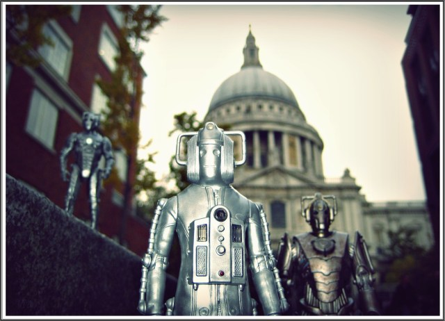 """Upload the mind, upgrade the body. Cybermen, from cyberspace - Now why has no one ever thought about that before?"""